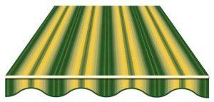 944/5 120 СМ Мультиполоса Желто-зеленый