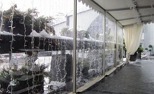 Защитный Экран от снега и ветра